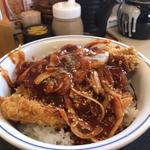 赤辛カツ丼 (梅)(かつや 大阪泉佐野店 )