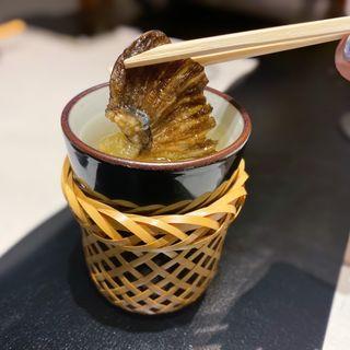ひれ酒(あじ平 曽根崎)
