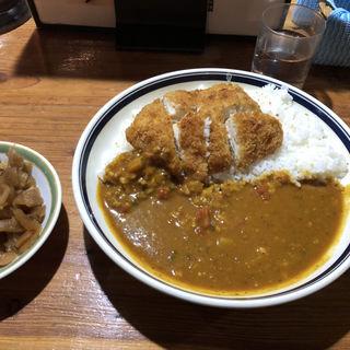 薬膳 チキンカツ(大山鶏)カレー(きっちん ぱぼーね )