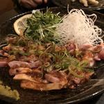 鶏肉タタキのゆずポン酢(稀鳥屋)