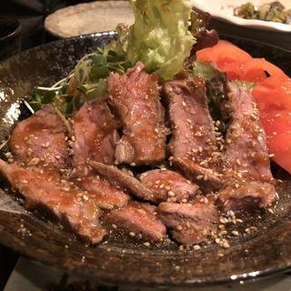 牛ロースのタタキ和風サラダ(稀鳥屋)