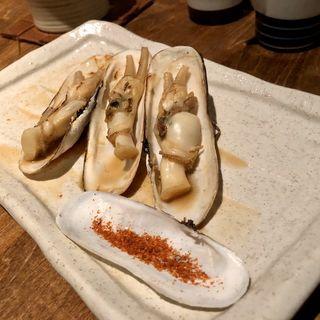あげまき貝のバター焼き(磯ぎよし 下川端店 )