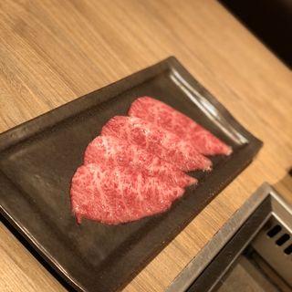 ザブトンのすき焼き(焼肉うしごろ 西麻布本店 )