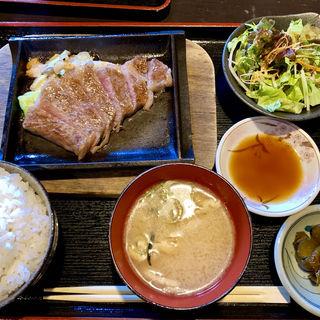 近江牛ステーキ御膳(近江や (おうみや))