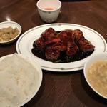 黒酢の酢豚 ランチ