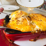 3種のチーズと茄子がとろける阿久根産鹿肉のムサカ