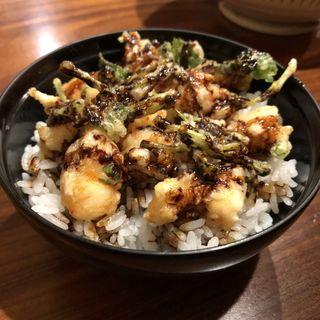 ミニ天丼(わだつみ 円山町店)