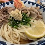 炙り牛トンぶっかけ(き田たけうどん)