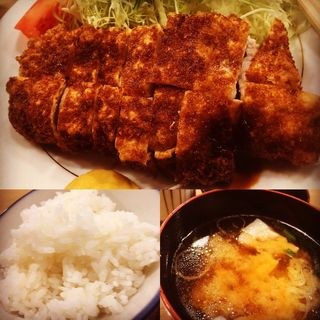 ロースかつ定食(とんき 目黒店 )
