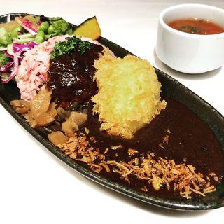 熟成カレーライス&クリームコロッケ(発酵キッチン リッチクリームコロッケ東京)