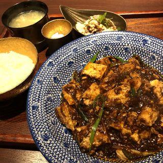 麻婆豆腐定食(MUSE)