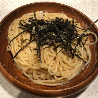 タラコとイカのスパゲッティ(ハシヤ )
