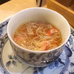 霞の蟹の茶碗蒸し