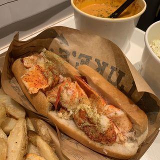 lobster roll(LUKE'S LOBSTER 心斎橋)