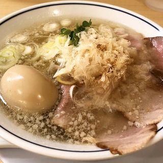 塩ラーメン(らーめん鱗 京都三条店)