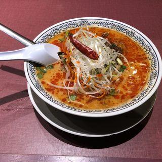 麻辣坦々麺(丸源ラーメン 寝屋川店)