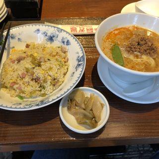 担々麺ランチ(China Garden頤和園 天神店 (イワエン))