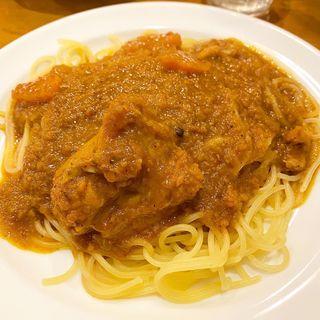 カレースパゲッティ・インド風(ぼらぼら )