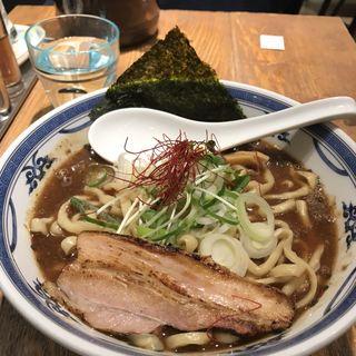 鳥魚介ラーメン(つけ麺や 武双 グランツリー武蔵小杉店)