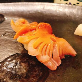 赤貝の握り(つきぢ神楽寿司 新館 )