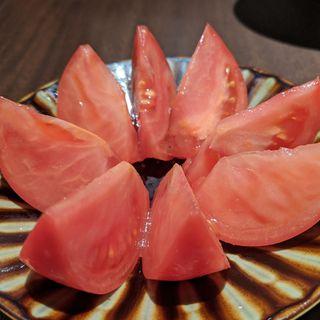 完熟冷やしトマト(京洋食 まつもと )