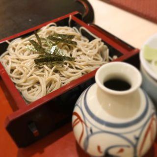 ざる蕎麦(中洲仁伊島 )