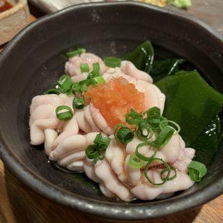 白子ぽん酢(4番サード魚真)