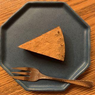 シナモンチョコレートケーキ(喫茶葦島 (きっさあしじま))