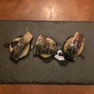 炙り鯖とじゃが芋のソテー(ウグイス (uguisu))