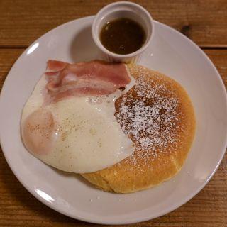 モーニング ベーコン&エッグ(カフェ ラインベック (Cafe Rhinebeck))