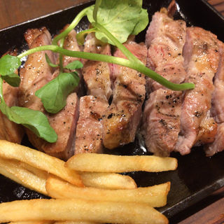 国産豚肩ロースのグリル(Plime SAMURAI's BBQ)