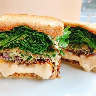 カニクリームコロッケサンド(&sandwich. (アンド サンドイッチ))