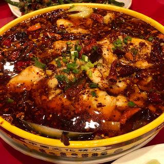 白身魚と野菜の辛塩煮込み(永利 池袋本店 (エイリ))