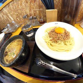 丸和つけ麺 台湾ミンチ卵トッピング(つけ麺丸和 名駅西店)