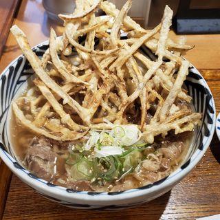 肉うどん(増田うどん)