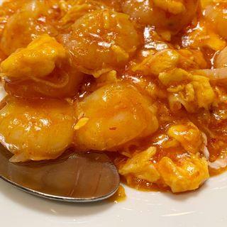 海老チリ(中華料理 陳 (チュウカリョウリチン))