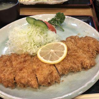 ロースカツ定食(とんかつせんのき 東神奈川本店 )
