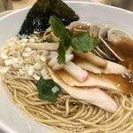 鶏 煮干 蛤 のトリプルSOBA
