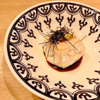 焼きごま豆腐(鮮度魚来 かさね)