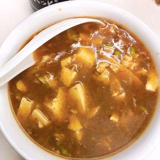 カレーマーボー豆腐(ゆる酒場 )