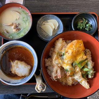 天丼セット(天ぷら 大吉 なんば店 )