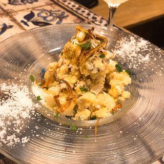 燻製サバのポテトサラダ(マチェレリーアディタケウチ (MACELLERIA di TAKEUCHI))