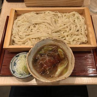 鴨汁きしめん箱盛り(横浜なかや 大関本店 )