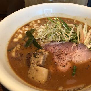 旨辛 味噌白湯ラーメン(麺屋ほぃ )