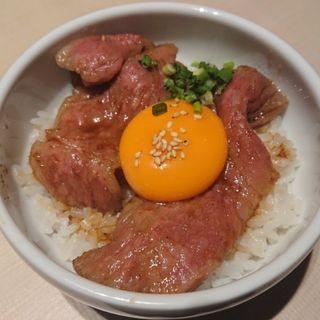 サーロインと濃厚卵の究極小鉢飯(焼肉トラジ 玉川高島屋S・C店)