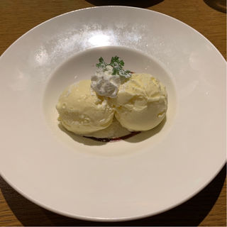バニラジェラート(オッティモ・シーフード・ガーデン上野店)