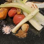 焼き野菜盛り合せ