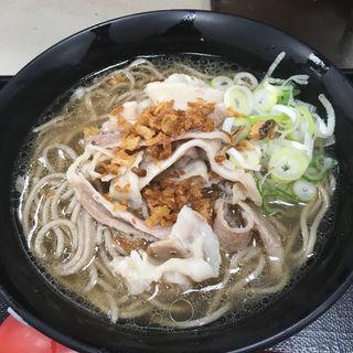 肉骨茶そば(名代 富士そば 上野広小路店 )
