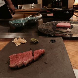 牛ヒレ肉のステーキ(嵯助 (サスケ))