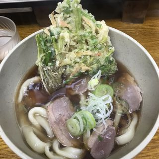 鴨うどん(笠置そば 西荻窪店 )